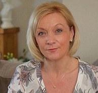 Kath Rathband, widow of PC David Rathband
