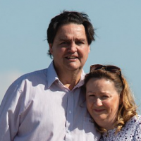 Rev Paul Parks and his wife Lois