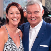 Ellie Chessell with Eamonn Holmes